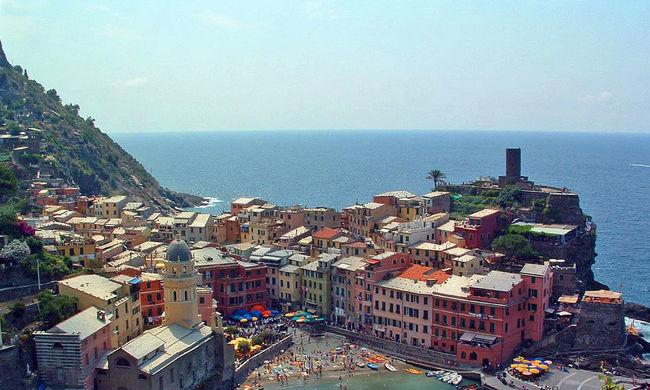 Jegyet kérnek a turistáktól Olaszországban