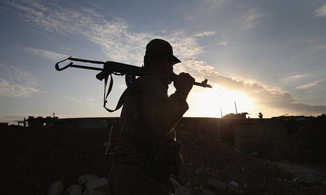 Terroristák támadtak meg egy iraki gázgyárat