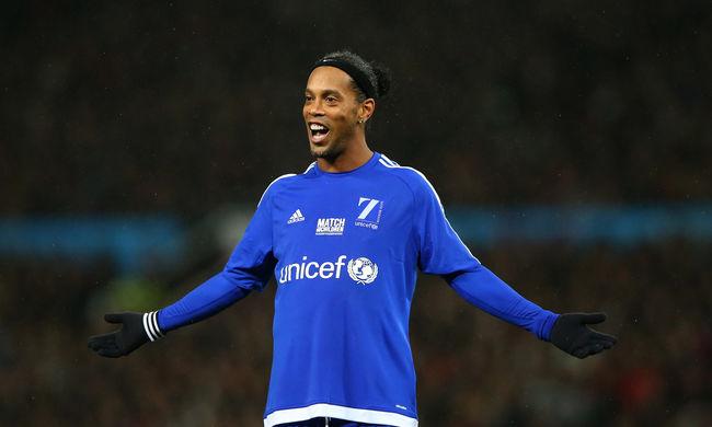 Majdnem Angliába igazolt Ronaldinho