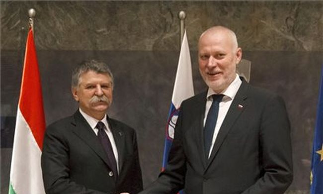 Kövér László: a migránsválság közelebb hozta egymáshoz Szlovéniát és Magyarországot