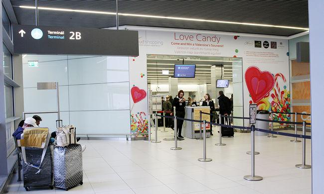 Nyomozás a ferihegyi reptéren: megsérült egy utas a 2B terminálon