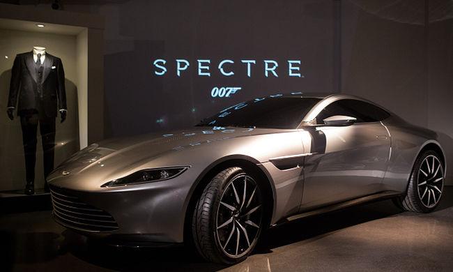 James Bond Aston Martinja több mint 2 millió fontért kelt el