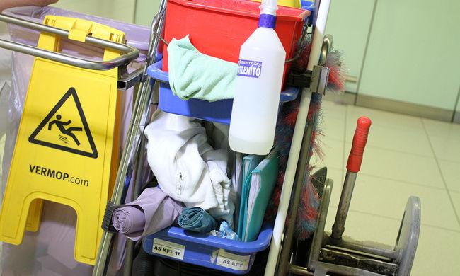 Rengeteget takarítunk, tonnákban mérhető mennyi tisztítószert vásárolunk évente