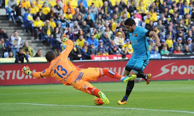 Újra nyert a Barcelona, Suárez már 25 gólos a bajnokságban