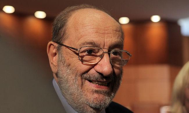 Elhamvasztották Umberto Ecot