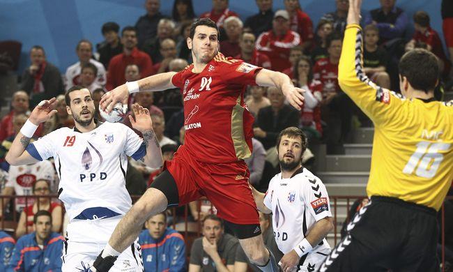 Szoros meccsen nyert a Veszprém a Bajnokok Ligájában