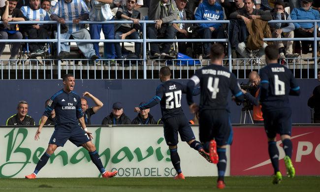 Ronaldo büntetőt rontott, nem nyert a Real Madrid