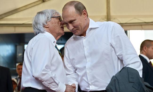 Putyinnak kéne vezetnie Európát az F1 főnöke szerint