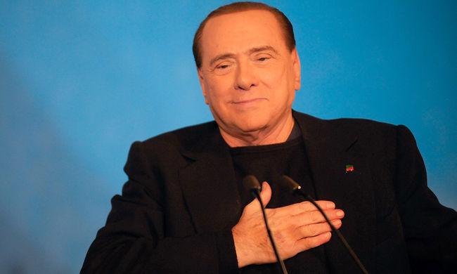 A szíve miatt kórházba került Silvio Berlusconi