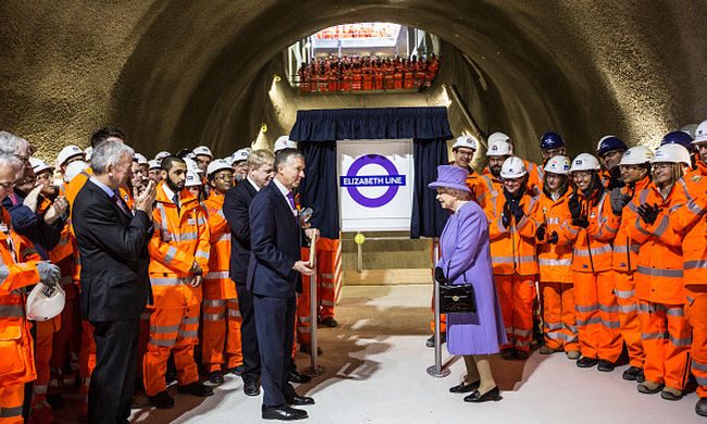 II. Erzsébetről nevezik el London új vasútvonalát
