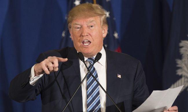 """Trump: """"Én megütöttem volna!"""""""