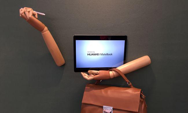 Falból kinőtt testrészek és a Huawei új, üzleti hibrid táblagépe