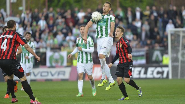 Gyönyörű gólokkal verte a Honvéd a bajnokságot 19 ponttal vezető Ferencvárost