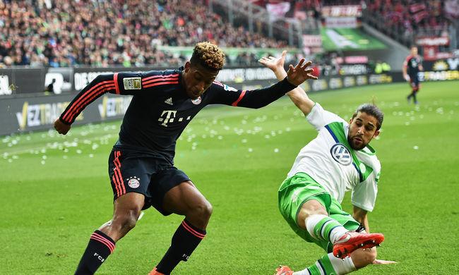 A Bayern a második félidőben döntötte el a Wolfsburg elleni mérkőzést - videó