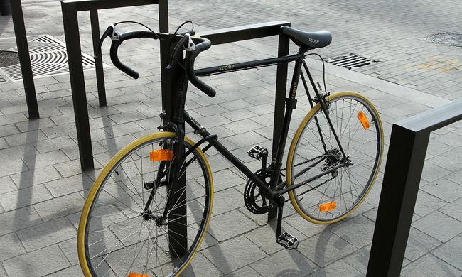 Ellopta a biciklit, elitta az árát