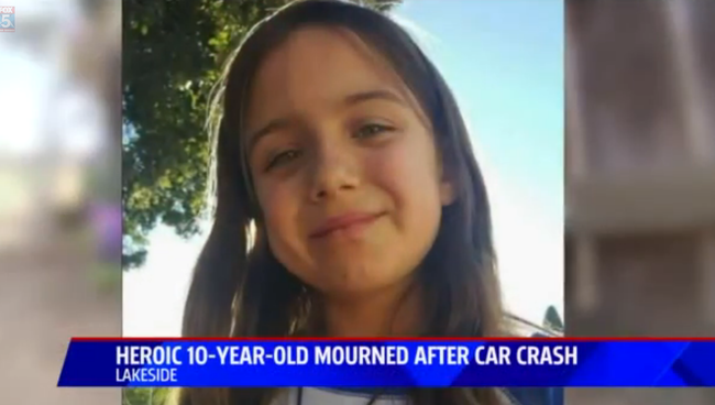 Megmentett két kisgyereket egy 10 éves kislány - őt gázolta halálra az autó - videó