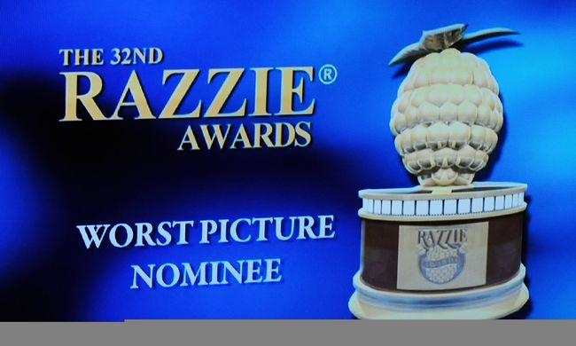 Megvannak a tavalyi év legrosszabb filmjei