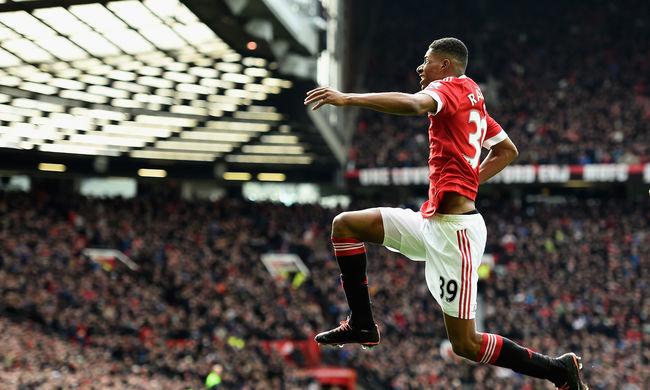 A Manchester United 18 éves tehetsége verte meg az Arsenalt - videó