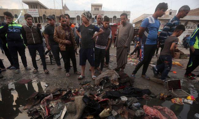 Már 70 halottja van a bagdadi kettős robbantásnak