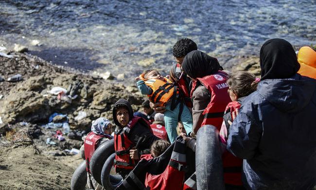 Kevés migráns érkezett a görög szigetekre, de nehéz még mindig a helyzet