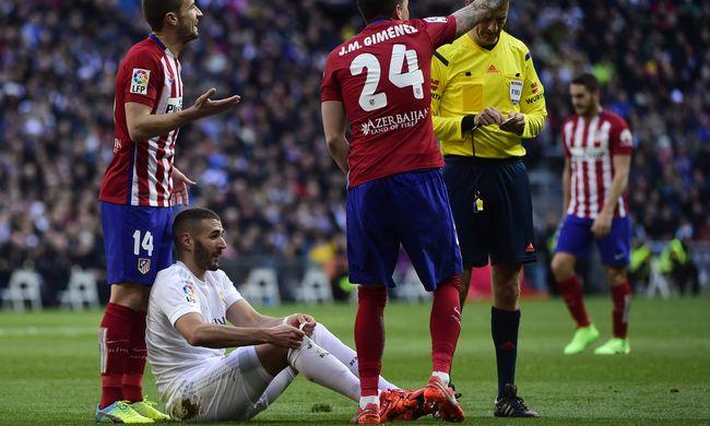 Benzema legalább egy hónapig nem játszhat