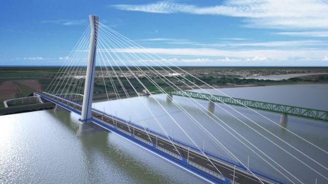 100 millió euróból épülhet a Komáromot Komárommal összekötő híd