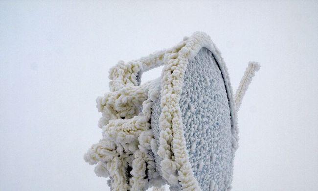 Sárga hó esett a Tátrában
