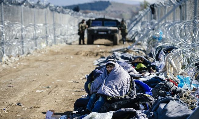 Macedónia csak a háború sújtotta városból érkezőket engedi be