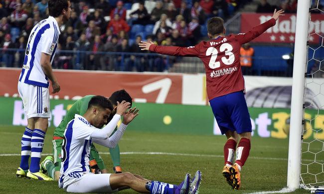 Megint nyert az Atlético Madrid, tapad a Barcelonára