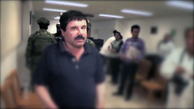 A mexikói drogbáró amerikai börtönbe menne