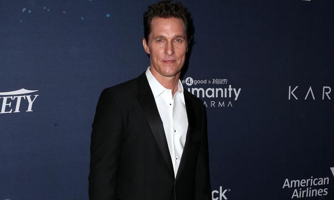 Matthew McConaughey lesz a Stephen King könyvéből készülő film főszereplője