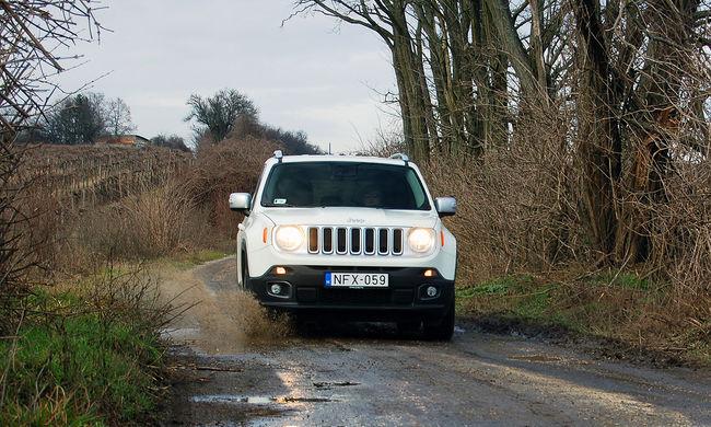 Sárból a plázába - Jeep Renegade 1.4 MultiAir2 teszt