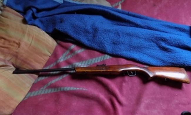 Engedély nélkül tartott fegyvert, állatokra lőtt