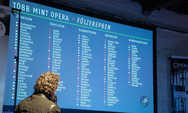 Magyar Évad világsztárokkal - kihirdette 2016/17-es tematikus évadának programját az Opera