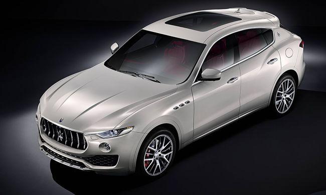 Genfből jelentjük: Maserati Levante