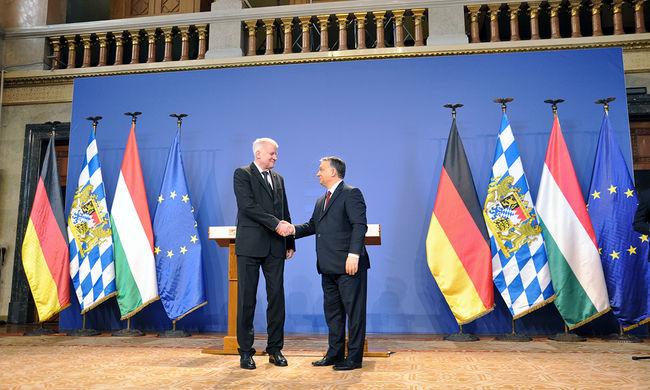 Orbán: erős német kormányban és erős német kancellárban vagyunk érdekeltek