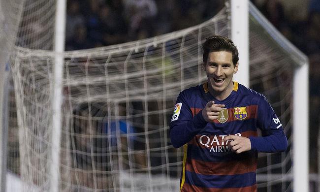 Nézze meg Messi újabb mesterhármasát - videó