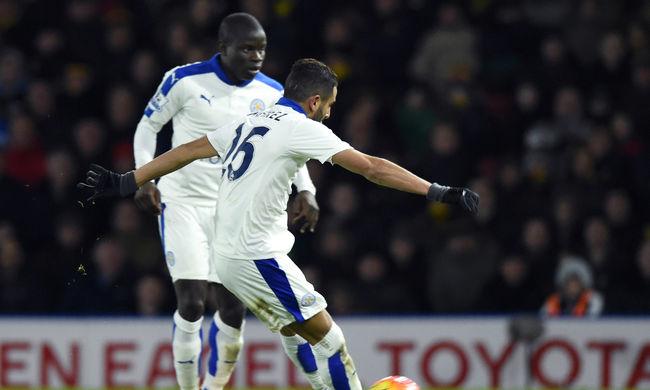 Nyert a Leicester City, öt ponttal vezeti a bajnokságot