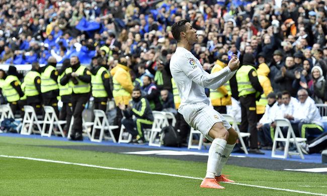 Cristiano Ronaldo és a Real is parádézott a Celta Vigo ellen
