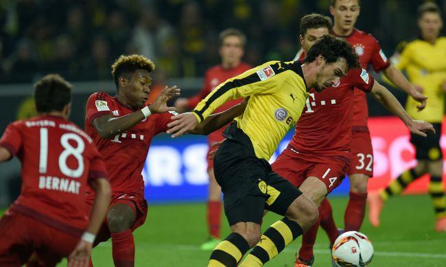 A Bayern és a Dortmund kilenc éve nem játszott ilyen meccset egymással