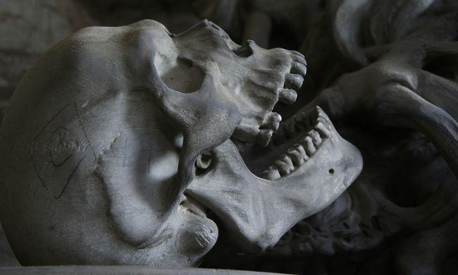 Rituális beavatkozásként lékeltek koponyákat