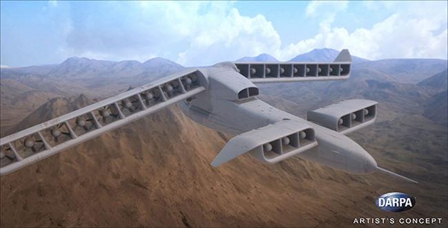 Új amerikai fejlesztés: pilóta nélküli hibrid repülő