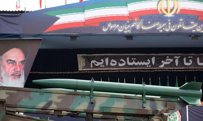 Ballisztikus rakétát teszteltek Iránban