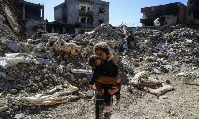Alig maradtak gyerekek Szíriában