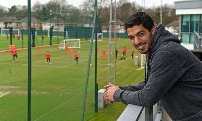 Suárez visszatért a Liverpoolhoz szabadsága alatt
