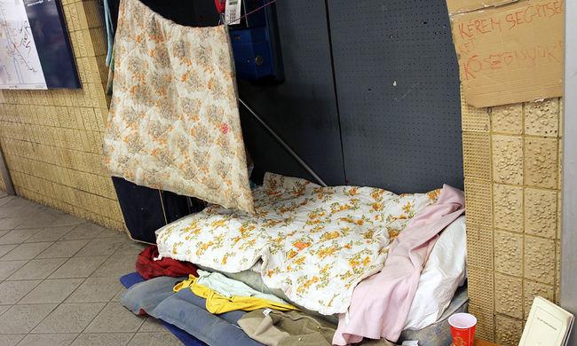 Egyre kevesebb a hajléktalan az utcákon