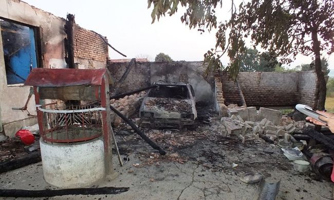 Vassal ütötte apját, majd felgyújtotta a házat