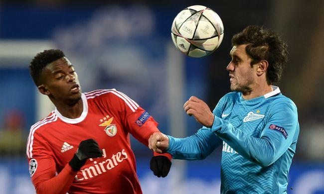 Továbbjutott a Benfica a Bajnokok Ligája negyeddöntőjébe - videó
