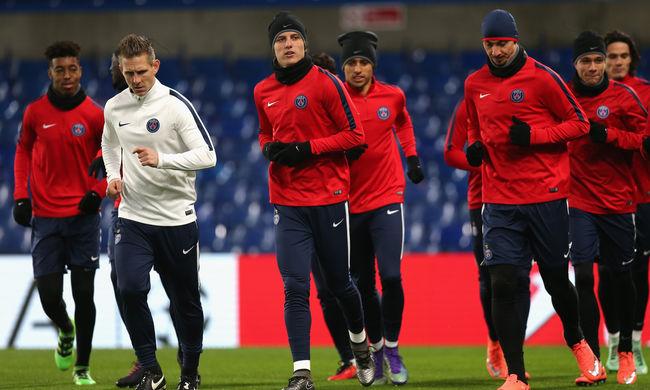 Bajnokok Ligája: hátrányból fordítana a Chelsea a PSG ellen