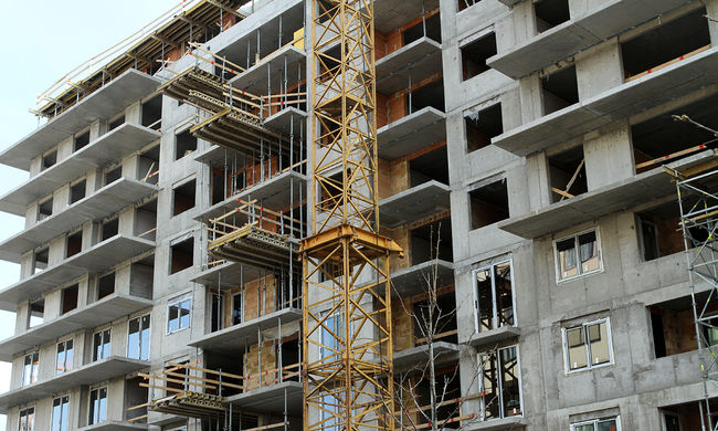 Négyszázmilliárd forintnyi lakás építésre számít az építőipar Budapesten és környékén